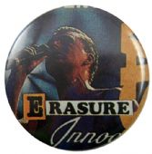 Erasure - 'Andy Innocents' Button Badge